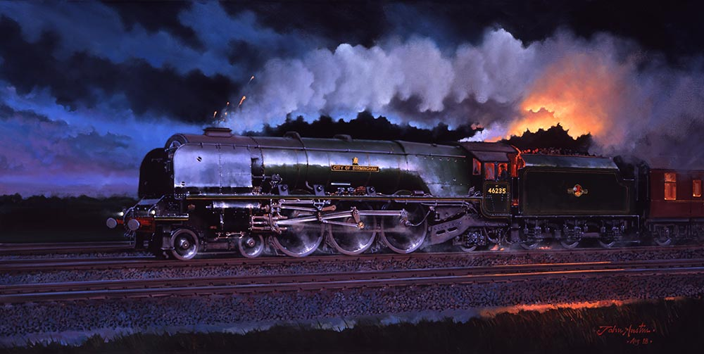 LMS Stanier 4-6-2 City of Birmingham