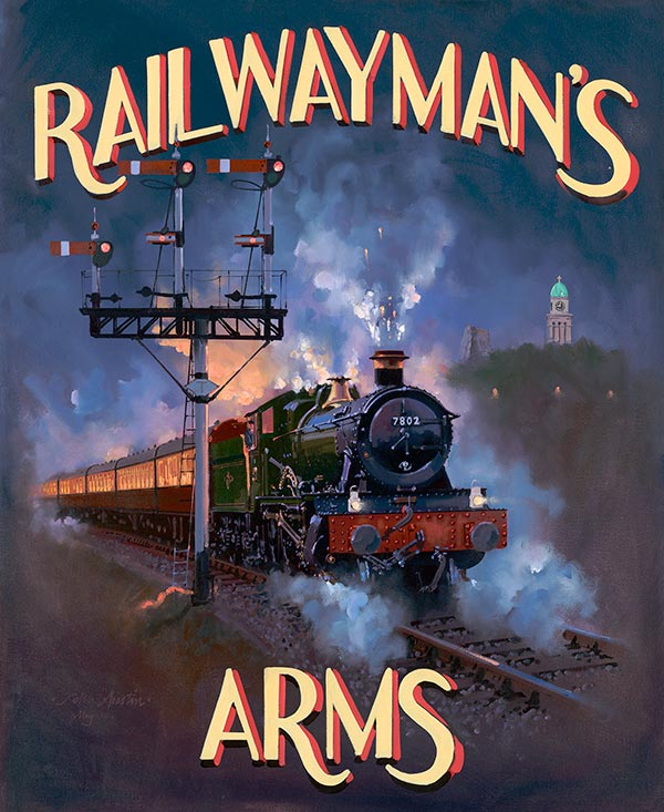 Railway Paintings By John Austin Fgra Page 2